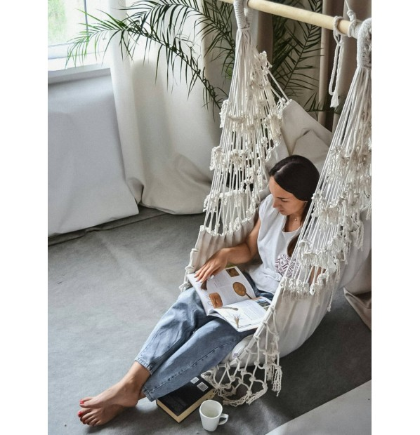 Hanging a hammock-chair for children and adults 'Scandinavia' from Infancy