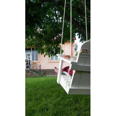Wooden swing hanging Infancy 'Summary' yellow