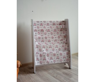 Shelf for books on Montessori 80cm. Infancy ™, 'Carriages'